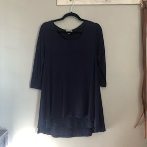 UMGEE Navy blue layered tunic